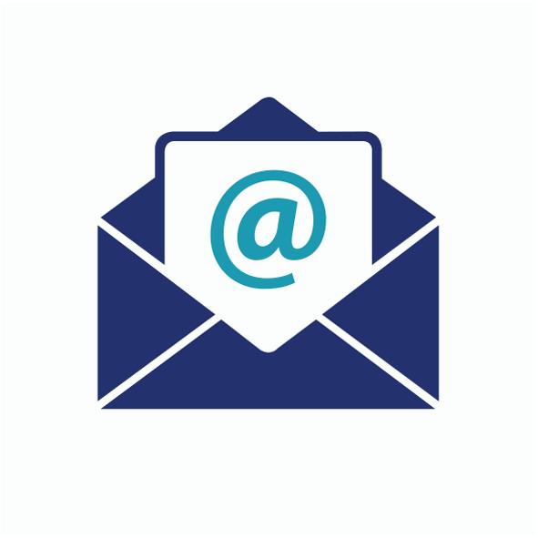 icone - E-mail blanc