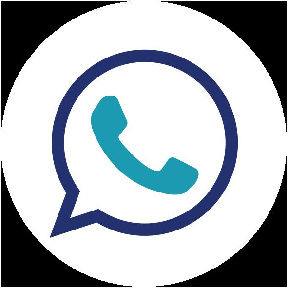 icone - Phone blanc